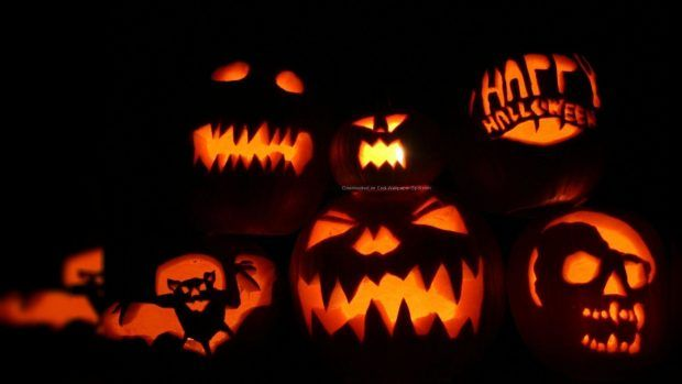 Halloween Wallpapers Hd 2018 Free Dengan Gambar Labu Halloween