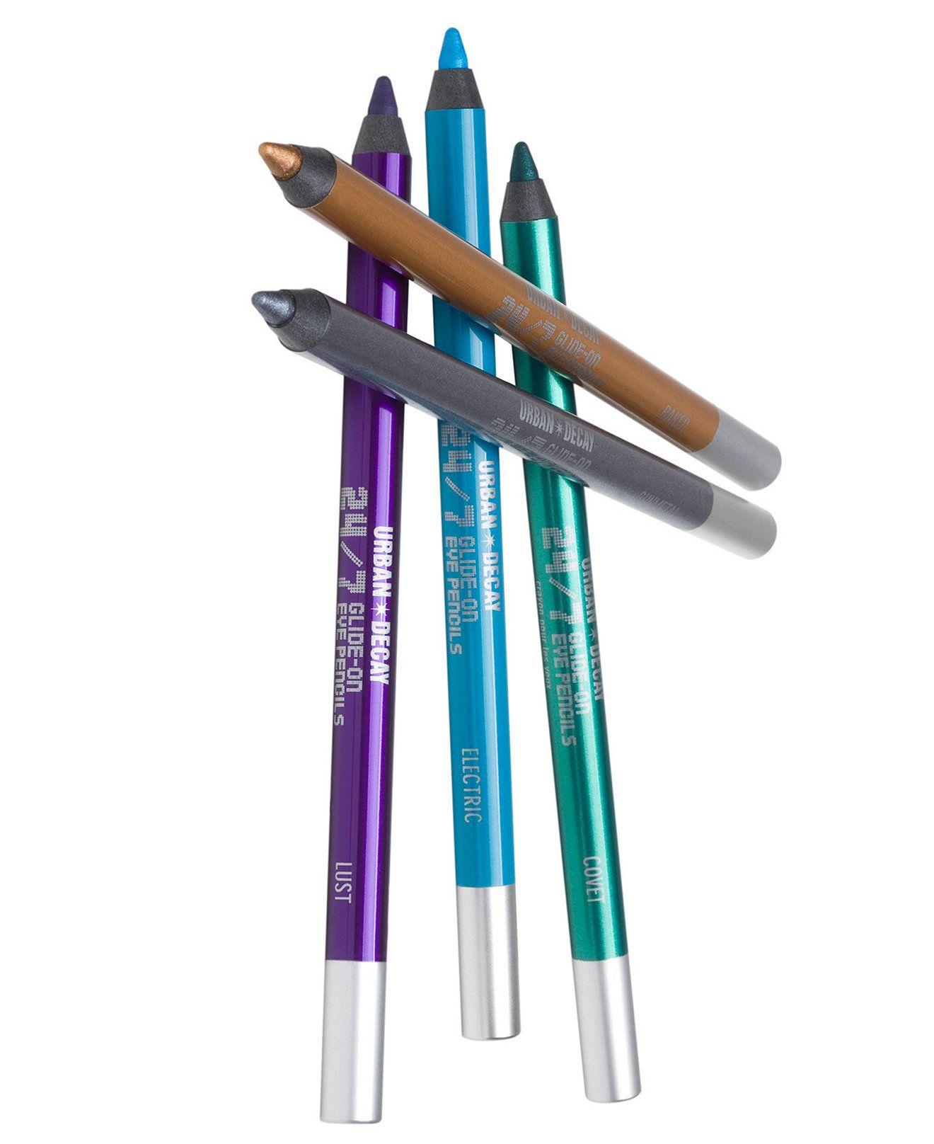 24/7 GlideOn Eye Pencil Makeup brush set, Urban decay