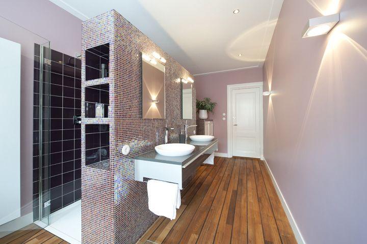 Cinder Rose Farrow And Ball Bathroom Wooden Floor