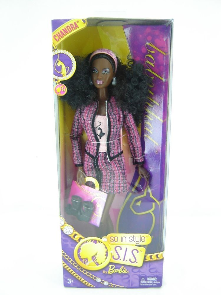 Barbie So in Style Baby Phat Chandra Doll | Pinterest