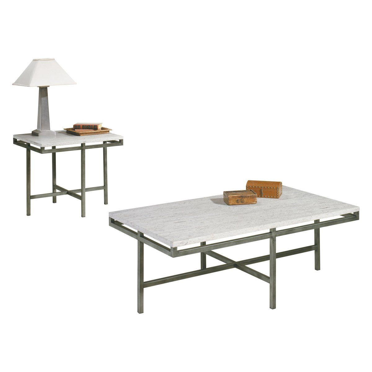 Hammary East Park Piece Square Coffee Table Set Home Decor - East park coffee table