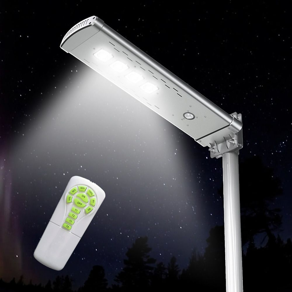 Smart Optium 3000 Lumens Solar Street Light With Remote Control