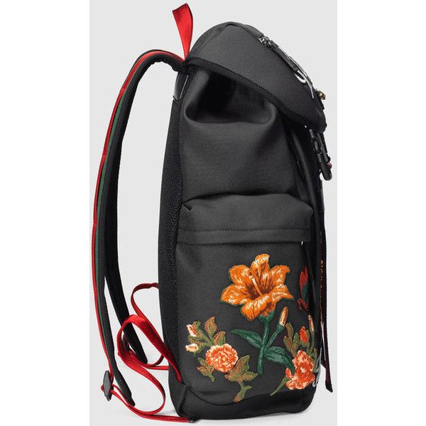 Gucci Backpack With Embroidery 2010 Liked On Polyvore Featuring Mens Fashion