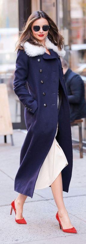 Chic Lams Wool Collared Long Coat • Street CHIC • ❤️ Babz ✿ιиѕριяαтισи❀ #abbigliamento