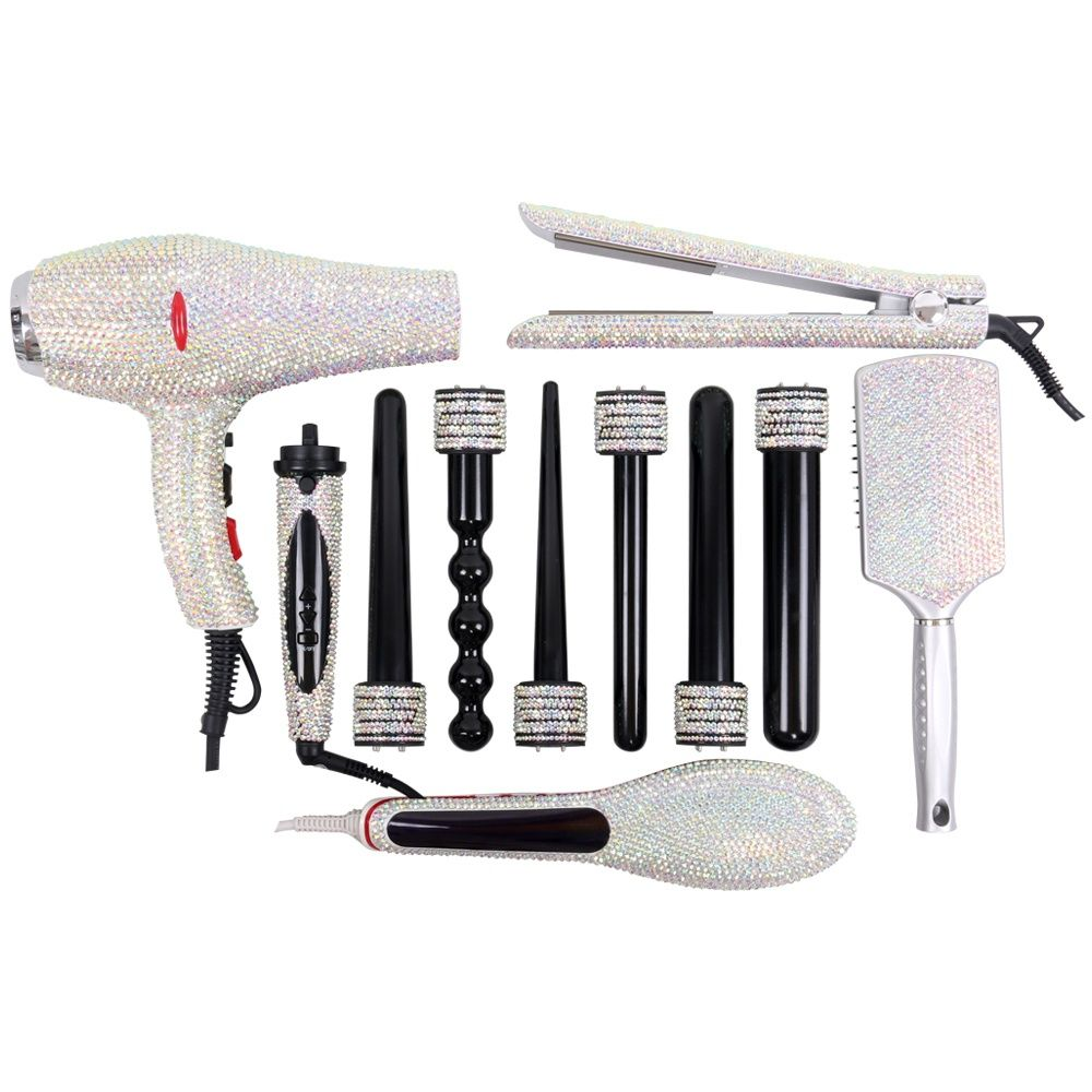 Hair Styling Tools Kit Hair Beauty Tools Set Hair Boutique Set Styling Tools Diamond Hair Hair Tools