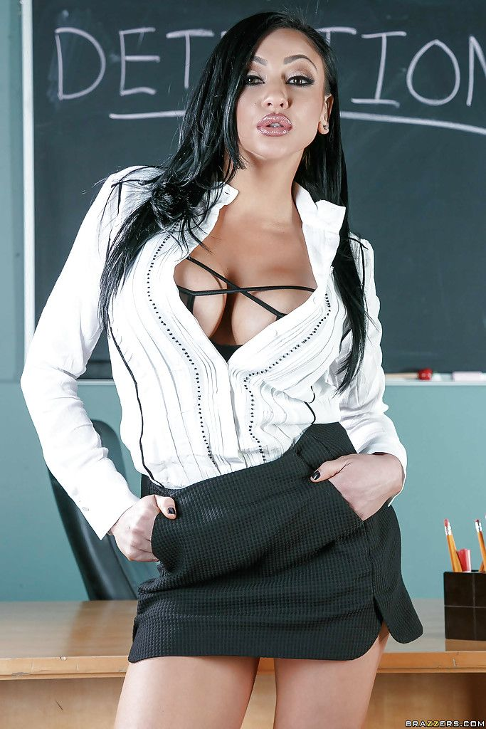 teachers milf Hot brunette