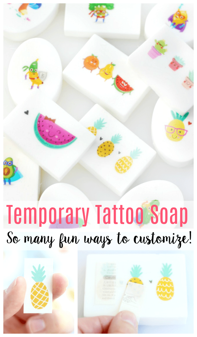 Photo of DIY Tattoo Soap Bars: So Easy for Kids to Make!