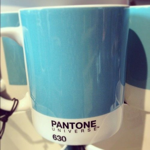 A little pop of our new signature blue. Is it too early to start our Christmas list?