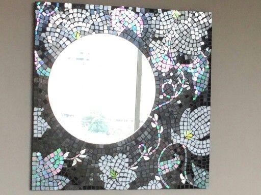 Espejo en vitro mosaico   Espejos en mosaico   Pinterest