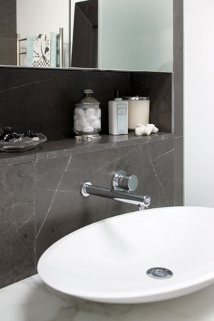 Ensuite bathroom makeover better homes and gardens Yahoo better homes and gardens