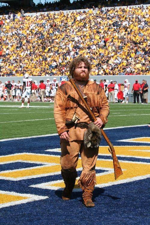 West Virginia Mountaineers Mascot The Mountaineer West Virginia History West Virginia Mountaineer West Virginia