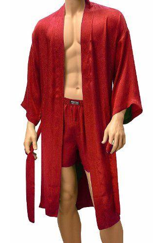 18a62c8a22 Pin sara campbell on fashion kimono robe long robe jpg 341x500 Red silk robe  for men