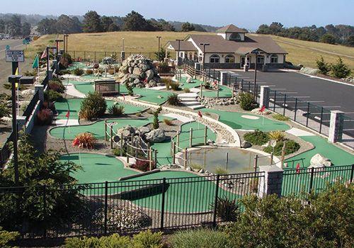 Emerald Dolphin Mini Golf And Fun Center Fort Bragg Greenwood Indiana Mendocino County Mini Golf