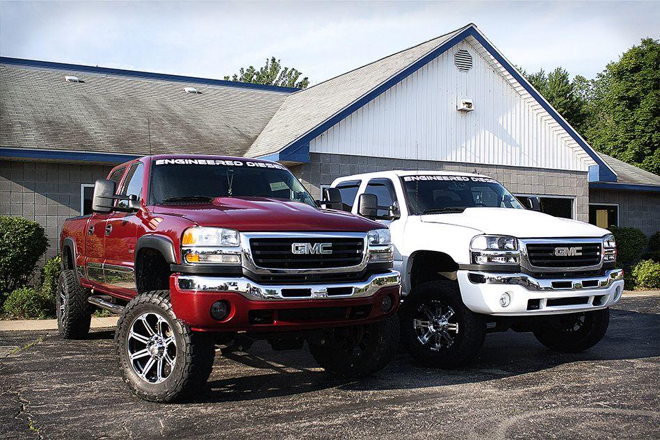 Engineereddiesel Gmc Duramax Truck Diesel Truck Meme Engineereddiesel Red White Gmc Chevrolet Chevy Duramax Gmc Trucks Chevy Trucks Duramax