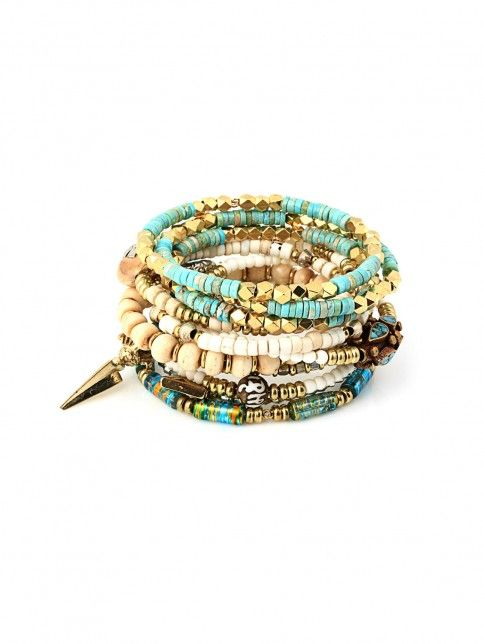 Desert Road Bracelet Set Stack - Bracelets | Vanessa Mooney Jewelry
