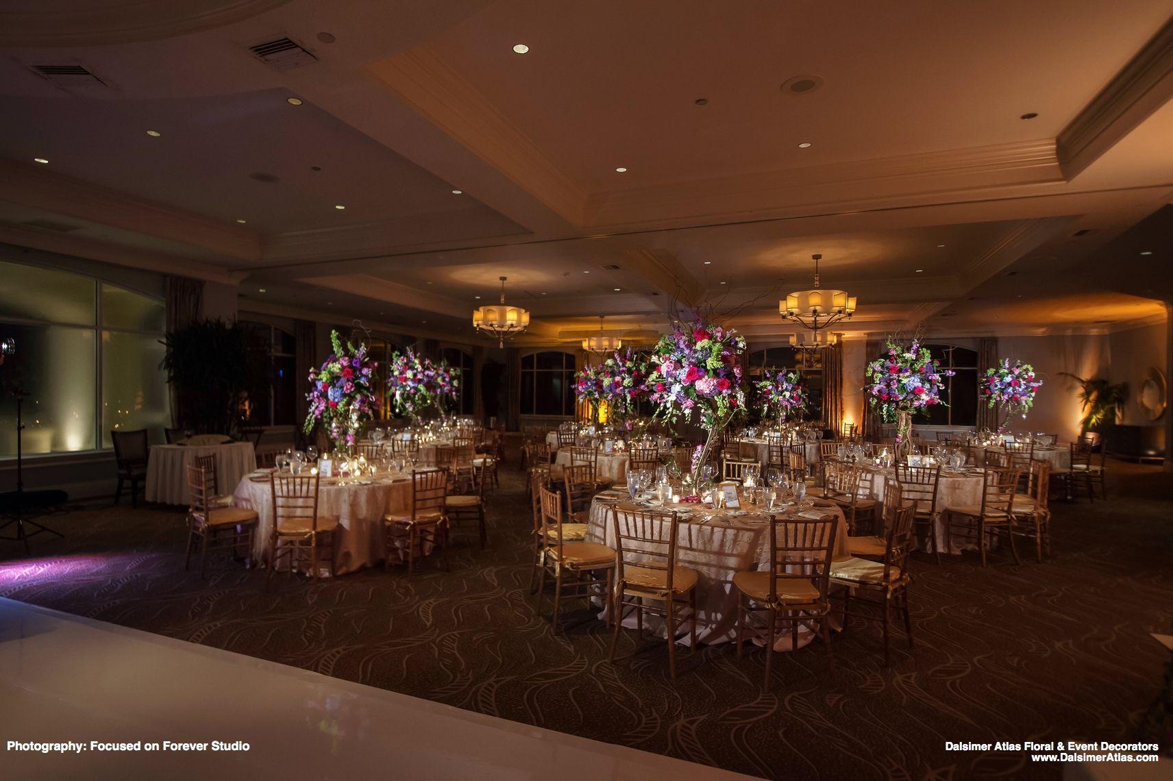 Dalsimer Atlas Fl Event Decorators Wedding Temma And Marc Ballenisles Country Club