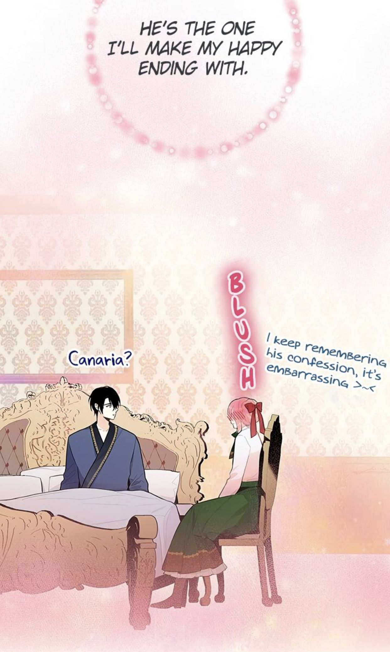 Survive as the Hero's Wife Manga Chap 48 My happy ending