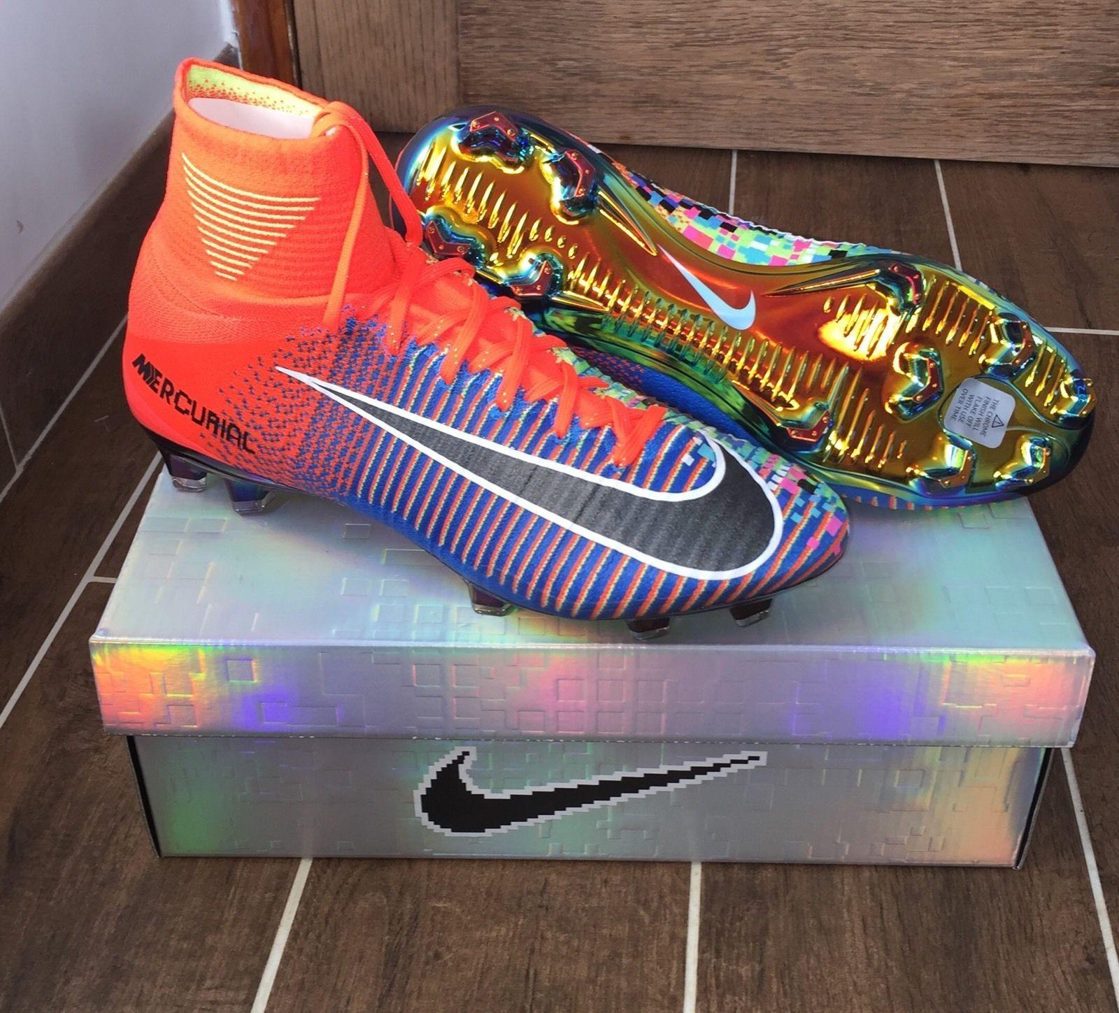 best cheap 90324 f53a2 Nike Football X EA Sports Mercurial Superfly FG Cramoisi total Code du  produit 852512-804