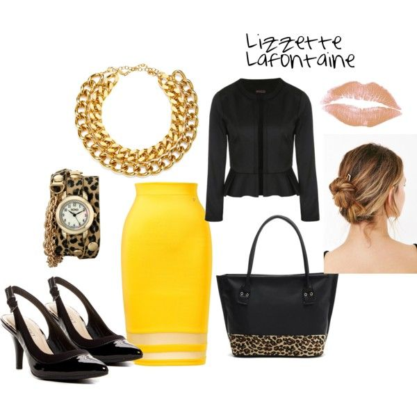 Less than $50 Teacher's Outfit #8 by lizzette-reyes-lafontaine on Polyvore featuring Ally Fashion, Thalia Sodi, Ellen Tracy, A.V. Max and XOXO