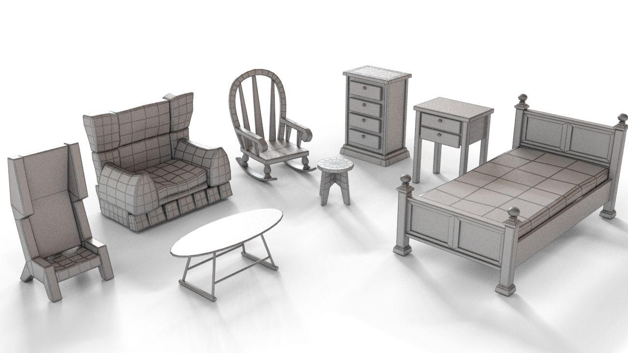 Cartoon Furniture Furniture Outdoor Furniture Sets Home Decor
