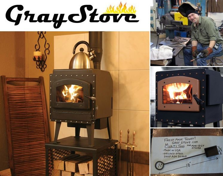 Tiny House Wood Burning Stove WB Designs - Wood Stove For Rv WB Designs