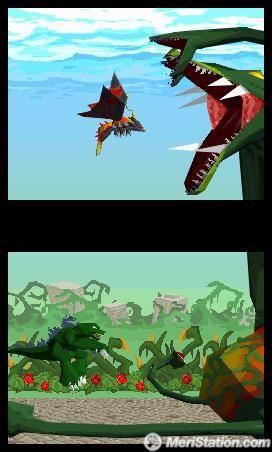 Godzilla Unleashed para NDS.Es un gran juego de lucha del monstruo conocido por todos, que va ahora a salir en tu consola portátil de Nintendo.