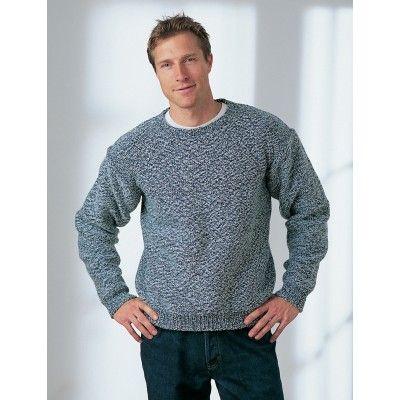 Mens Dropshoulder Sweater Knitting Pinterest Knit Patterns