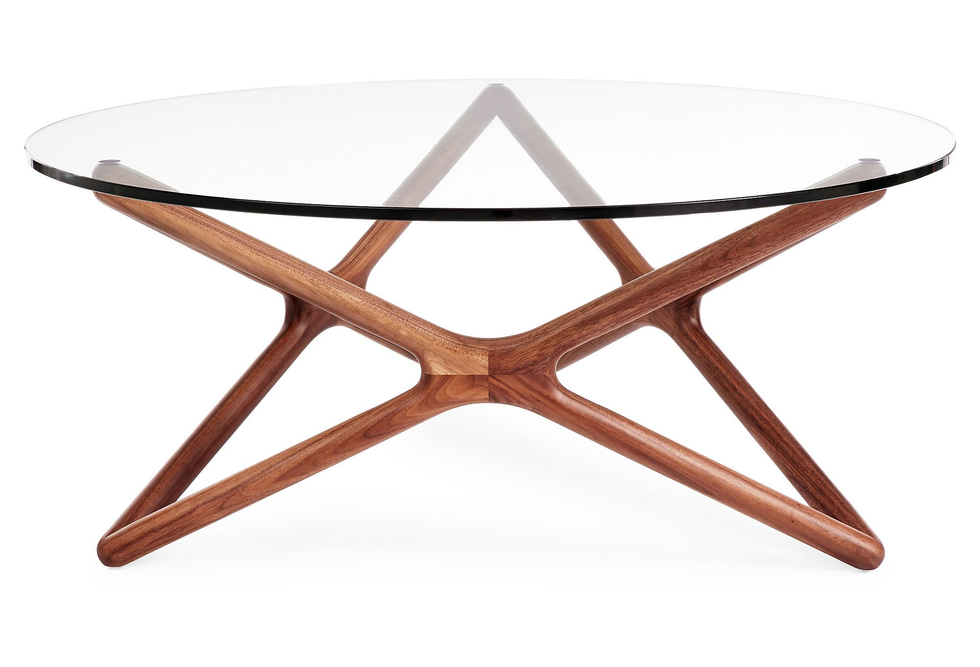 Star Glass Coffee Table Walnut Glass Coffee Table Coffee Table Glass Top Coffee Table [ 1362 x 2000 Pixel ]