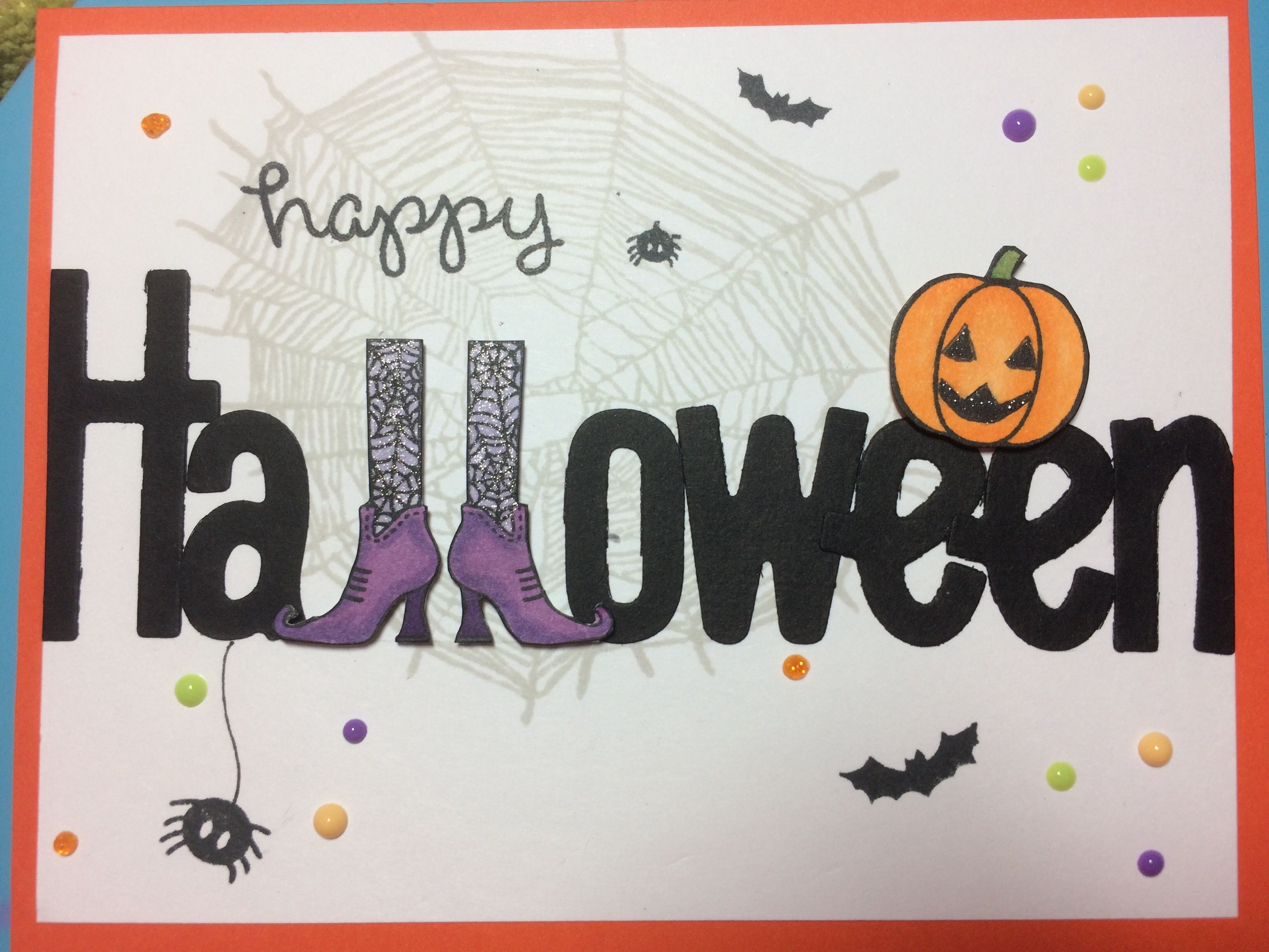 Happy Halloween Card Ideas Download Halloween Cards Vintage Halloween Cards Halloween Cards Handmade