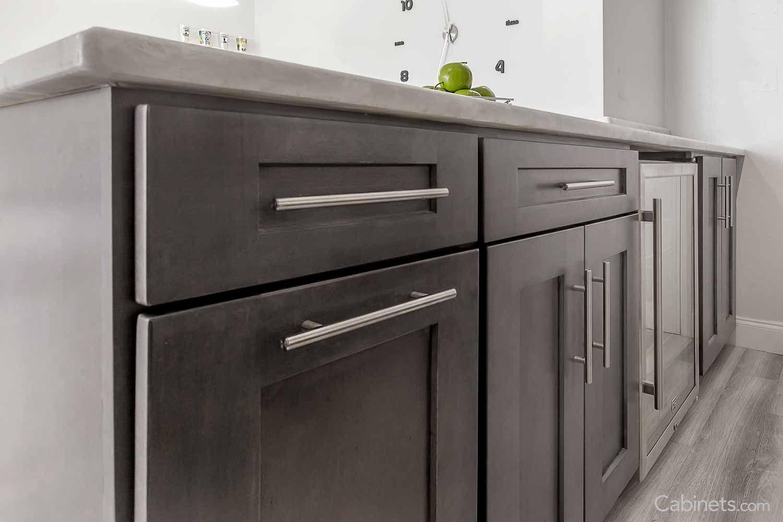 Pin By Chris On Va Kitchen Condo Kitchen Stainless Steel Bar Pull Kitchen Renovation