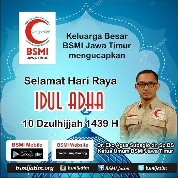 Keluarga Besar BSMI Jawa Timur Mengucapkan Selamat Hari