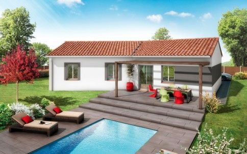 Plan maison gratuit - maison plain pied Mayotte astuce Pinterest - plan de maison en l de plain pied gratuit