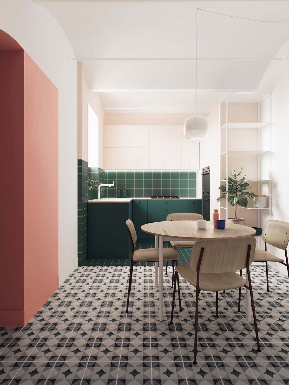 Miraculous 68 On Behance Arch Interior In 2019 Interior Design Interior Design Ideas Ghosoteloinfo