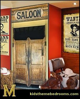 Another Saloon Room Western Style Decor Bedroom Themes Cowboy Bedroom