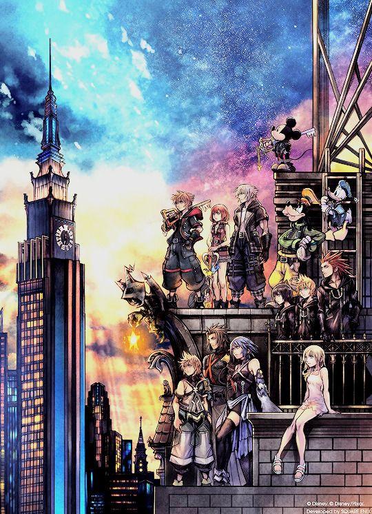 Breathstill Kingdom Hearts Iii Boxart With Images Kingdom Hearts Wallpaper Kingdom Hearts Kingdom Hearts 3