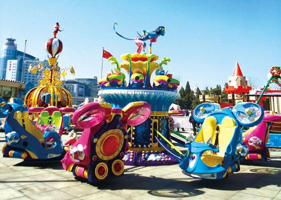 Hot sale Fun amusement rides Blue Planet.azul planeta