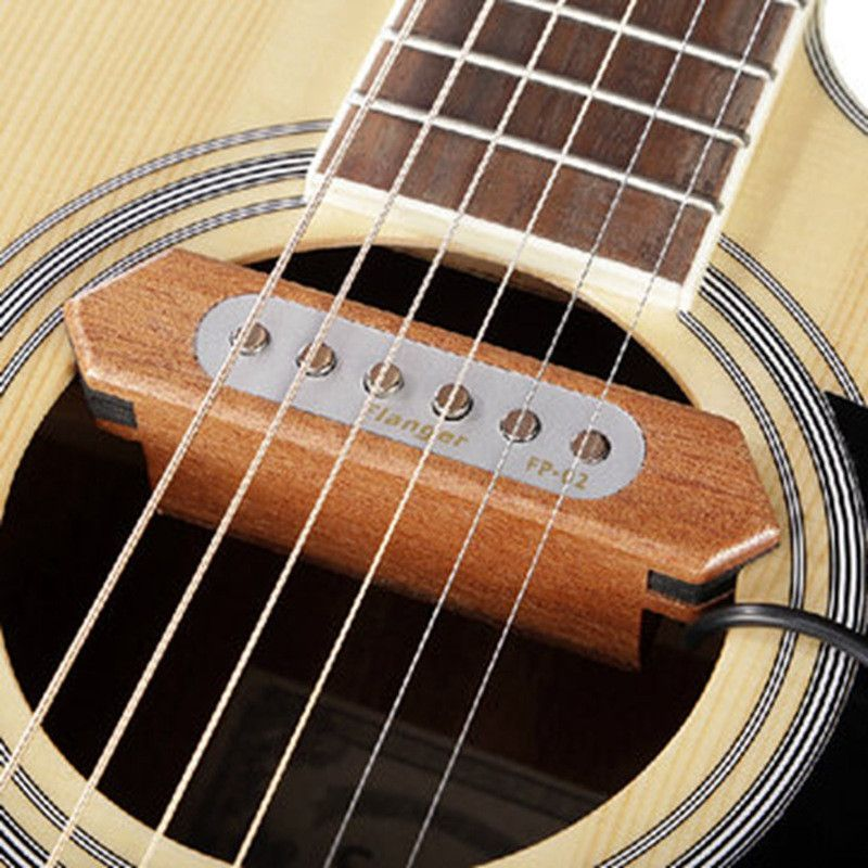 Brand Flanger Fp 2 Wood Acoustic Guitar Pickup Sound Hole Pickup Acoustic Guitar Accessories Acoustic Guitar Pickups Guitar Acoustic Guitar