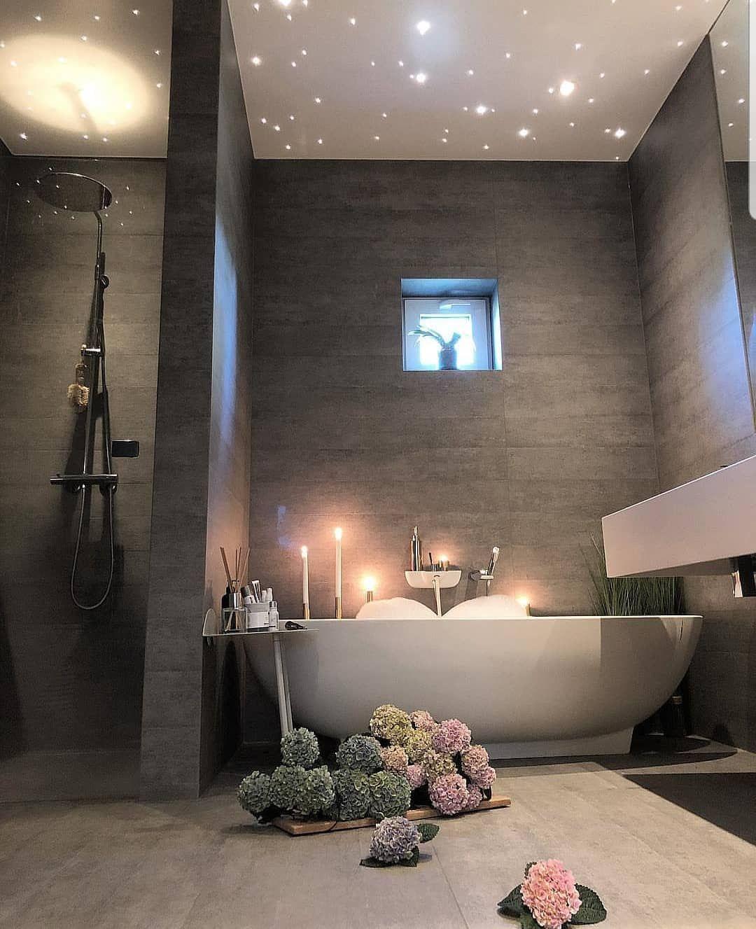 Gutschrift Baddesign Badezimmer Inspire Me Home Decor Interiordesign In Salle De Bain Romantique Salle De Bain Design Idee Salle De Bain