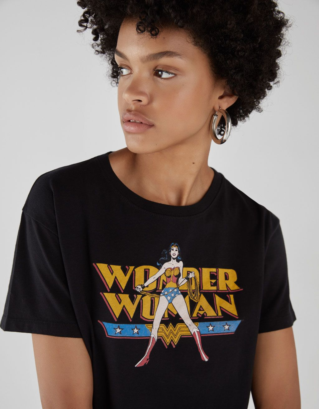 09da1c9967614 Wonder Woman T-shirt in 2019 | AW2018 | T shirts for women, Clothes ...