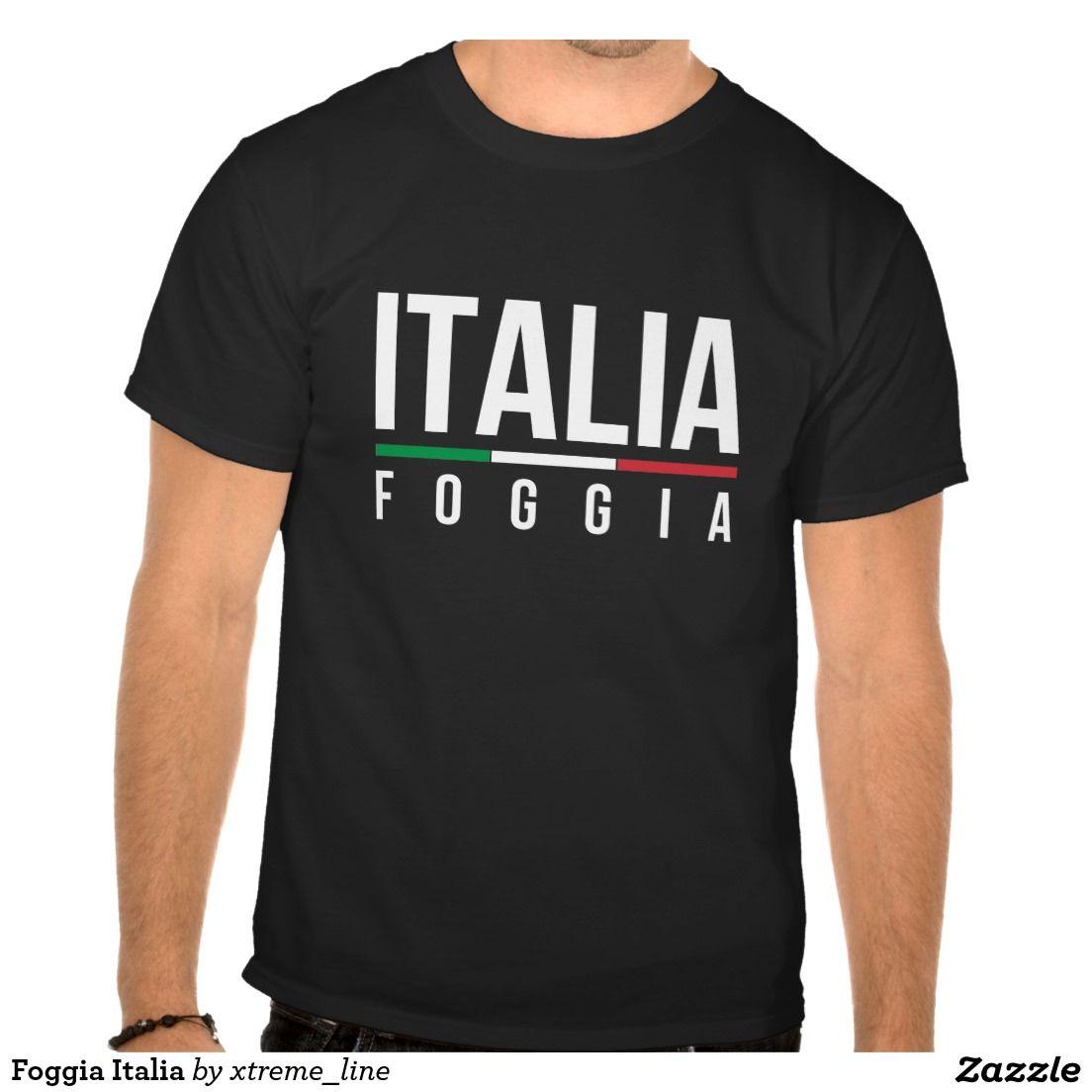 Design t shirt zazzle - Foggia Italia T Shirt Italian Clothing Apparel