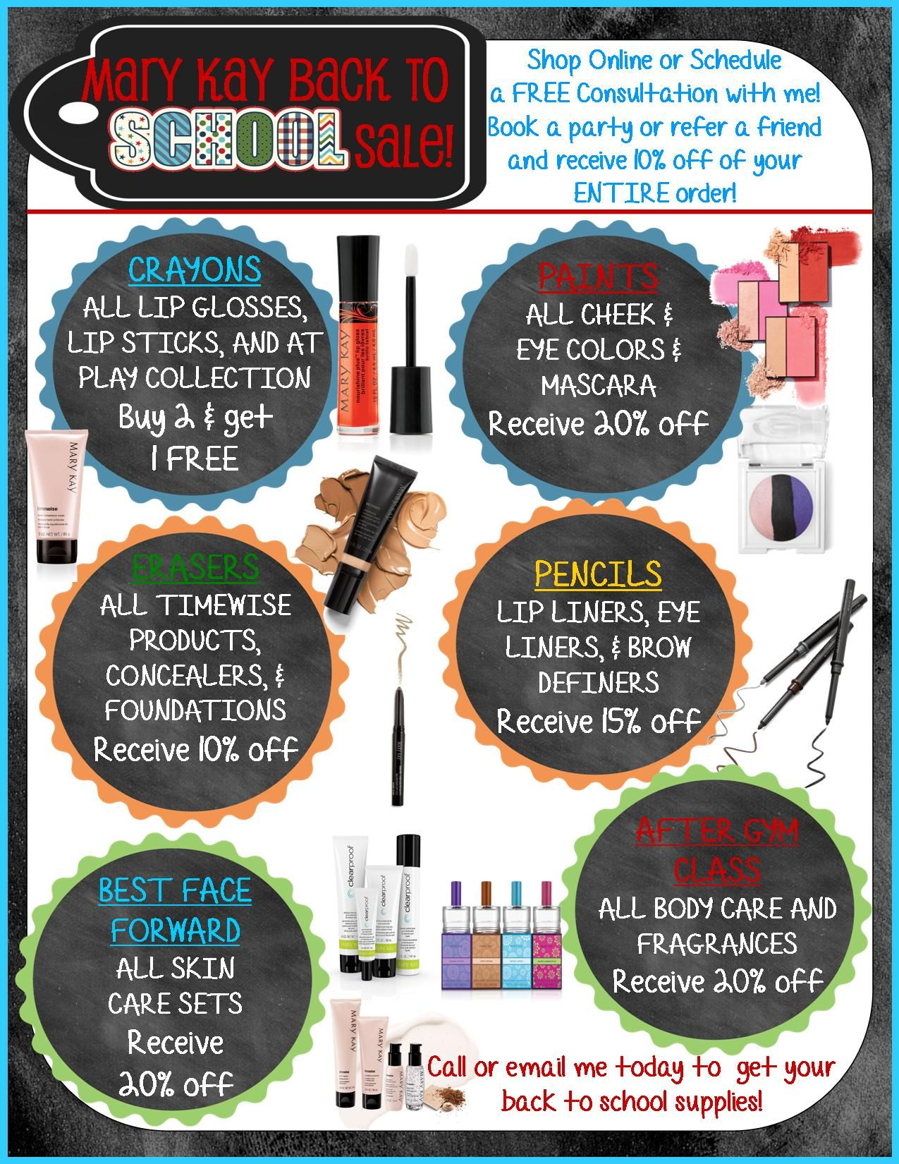 Mary Kay Monthly Design Package Promotion Extended With