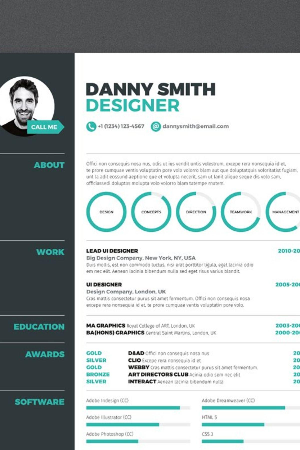 Resume 3 Best resume template, Downloadable resume