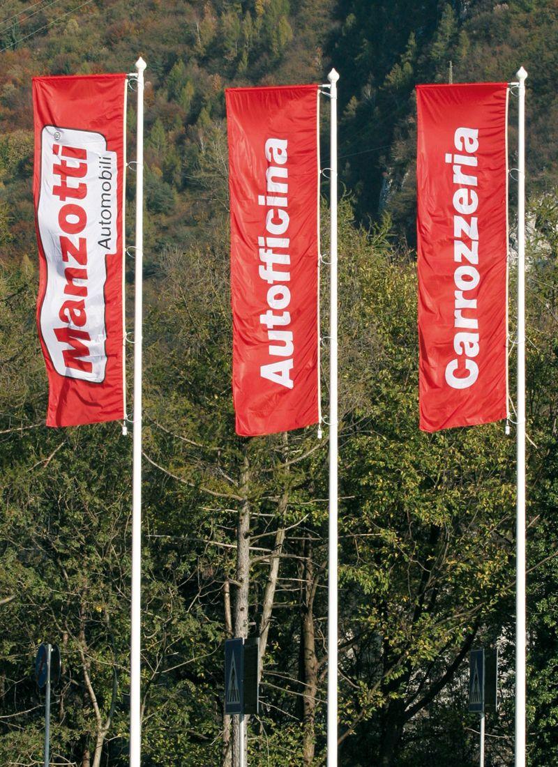 Bandiere per Manzotti Automobili