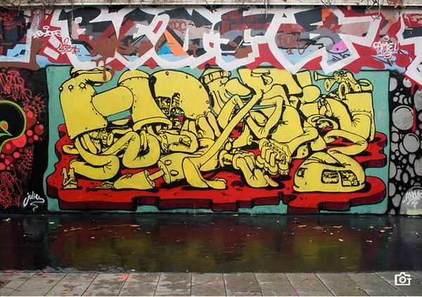 An Education From Jai Lennard   Graffiti and Street art
