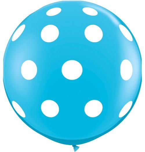 Balloon - 3' Aqua Dots