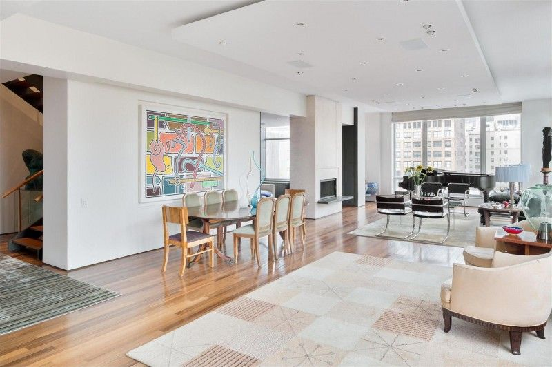 Duplex Penthouse In The Heart Of Chelsea Manhattan