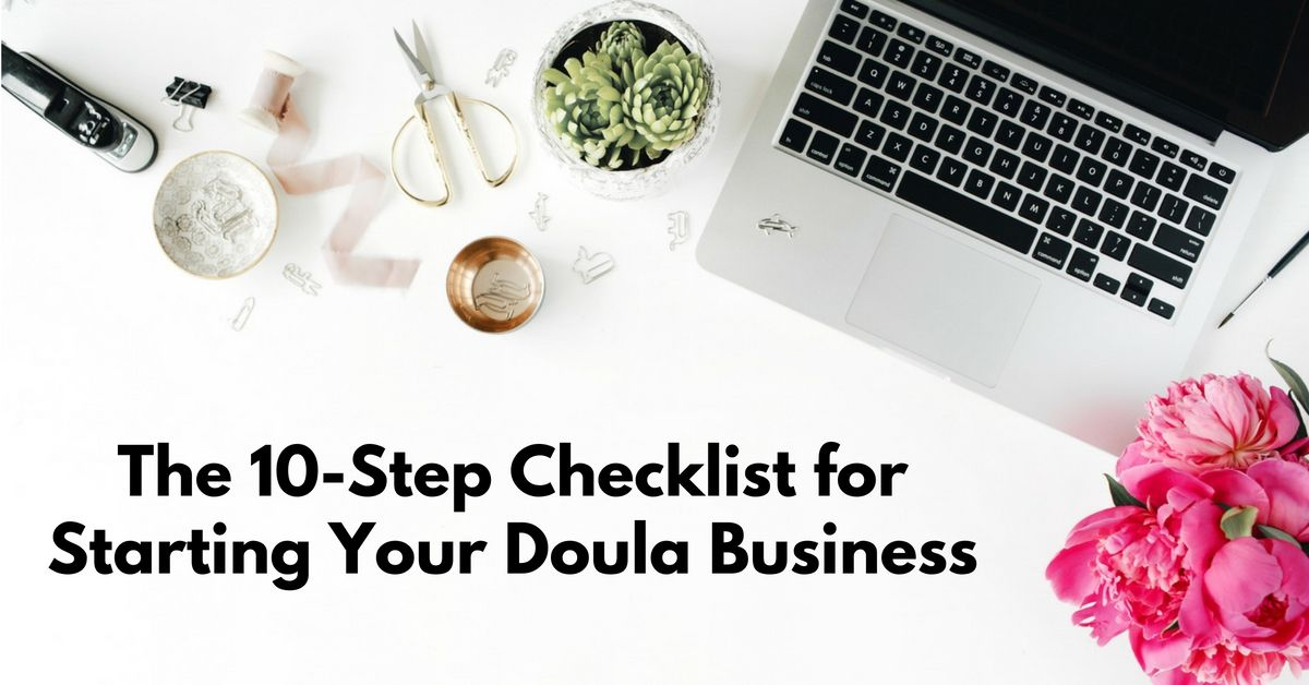 Here's some help for starting your doula biz Doula