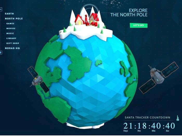 With Microsoft And NORAD You Can Track Santa Christmas