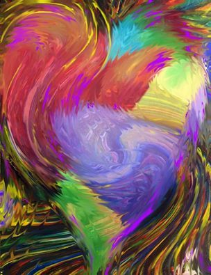 Image result for abstract heart paintings | Prophetic art, Worship  art, Painting