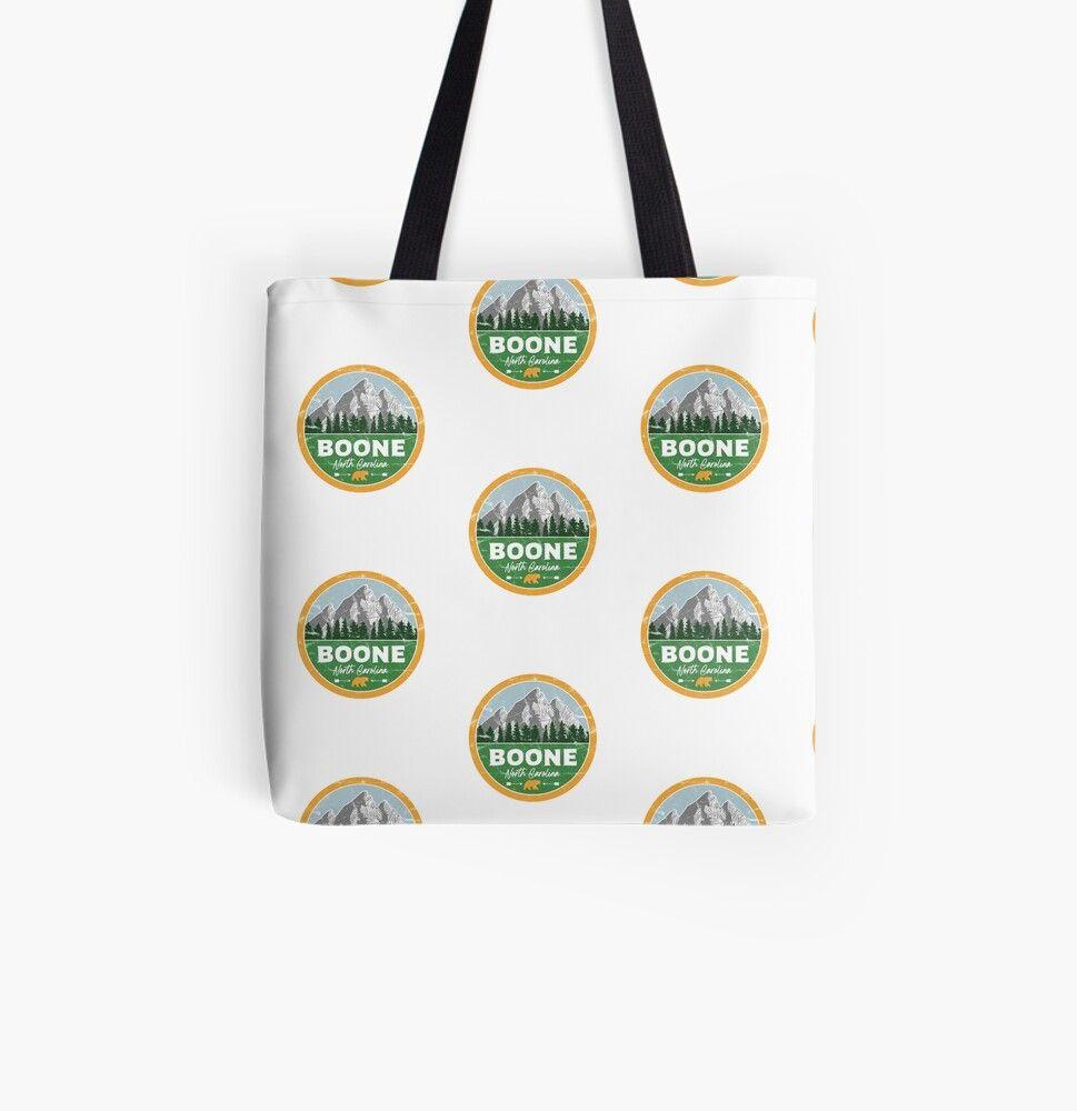 Boone North Carolina Blue Ridge Mountains Nc Tote Bag By Palmettodigital In 2020 Tote Bag Bags North Carolina Mountains